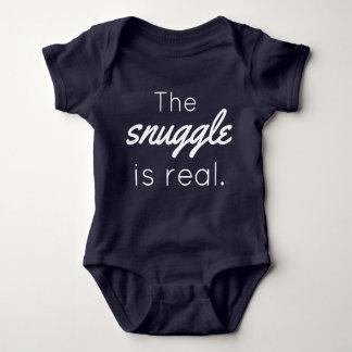 Body Para Bebé El Snuggle es mono real del bebé