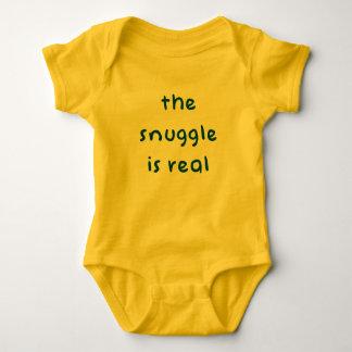 Body Para Bebé El Snuggle es real - mono lindo del bebé