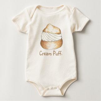 Body Para Bebé El soplo poner crema de la vainilla sopla los