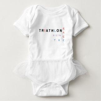 Body Para Bebé El Triathlon dejó la raza comenzar