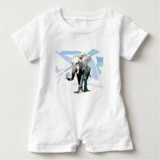 Body Para Bebé Elefante de África