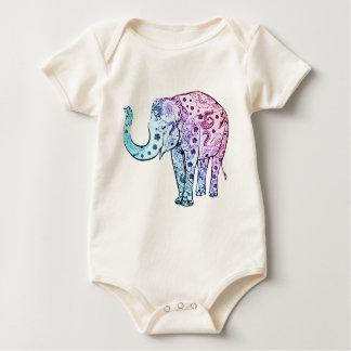 """Body Para Bebé """"Elefante de la alheña """""""