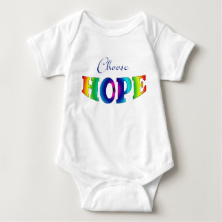 Body Para Bebé Elija al bebé Onsie de la ESPERANZA