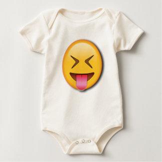Body Para Bebé Emoji social divertido