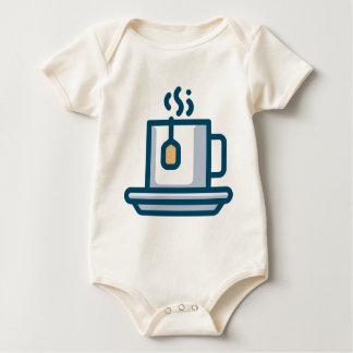 Body Para Bebé Empapamiento de té