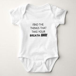 Body Para Bebé encuentre las cosas que eliminan su breat