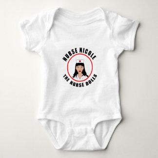 Body Para Bebé Enfermera de Nicole