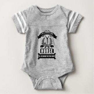 Body Para Bebé enfermera y papá