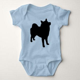 Body Para Bebé Engranaje de Elkhound del noruego