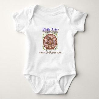 Body Para Bebé Engranaje internacional del logotipo de los artes