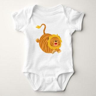 Body Para Bebé Enredadera animosa del bebé de Liger del dibujo