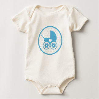 Body Para Bebé Enredadera del icono del cochecito de niño del