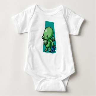 Body Para Bebé Enredadera del niño de Sleepytime Cthulhu