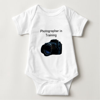 Body Para Bebé Enredadera del niño del fotógrafo de la cámara