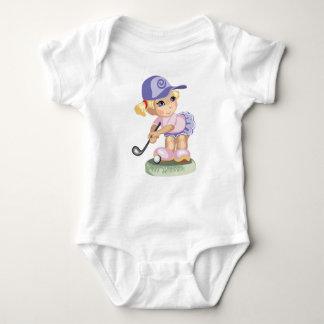 Body Para Bebé Enredadera Golfing del niño del chica