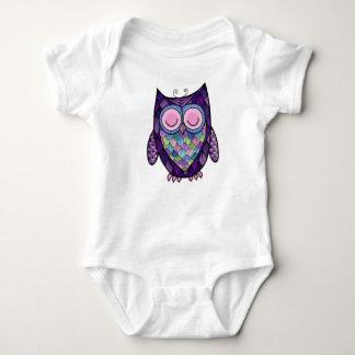 Body Para Bebé Enredadera soñolienta del niño del búho