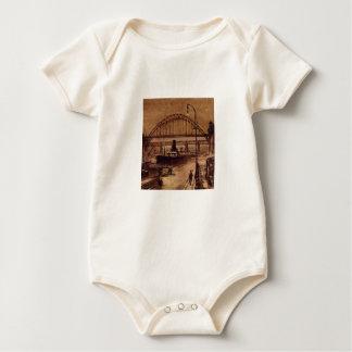 Body Para Bebé Enredadera vieja del muelle
