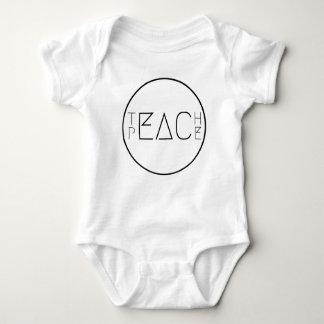 Body Para Bebé Enseñe a la paz