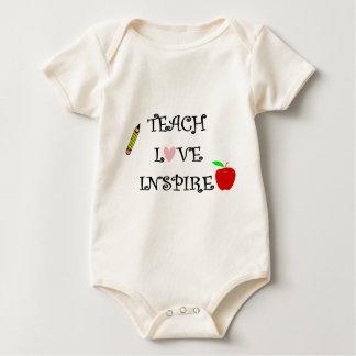 Body Para Bebé enseñe al amor inspiran