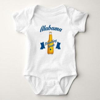 Body Para Bebé Equipo de consumición de Alabama