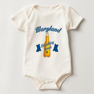 Body Para Bebé Equipo de consumición de Maryland