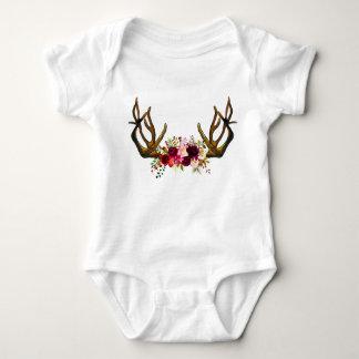 Body Para Bebé Equipo salvaje del bebé de la estancia