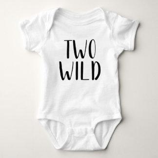 Body Para Bebé Equipo salvaje del bebé dos