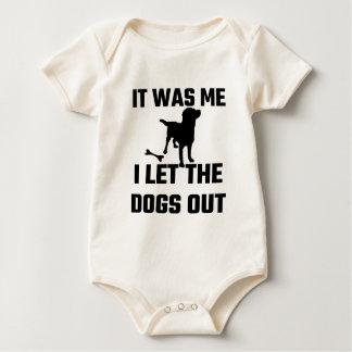 Body Para Bebé Era yo que dejé los perros hacia fuera
