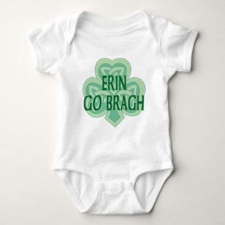 Body Para Bebé Erin va enredadera del niño de Bragh