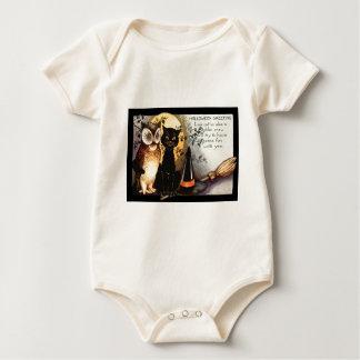 Body Para Bebé Escoba del gorra de la bruja de la Luna Llena del