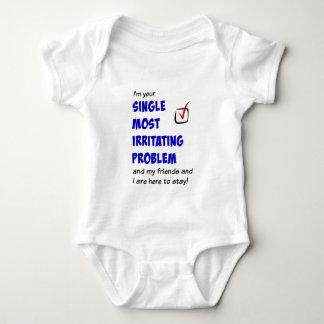 Body Para Bebé Escoja la mayoría del problema irritante