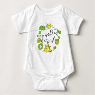Body Para Bebé Escritura de Myrtle Beach