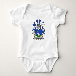 Body Para Bebé Escudo de la familia de Sheehan
