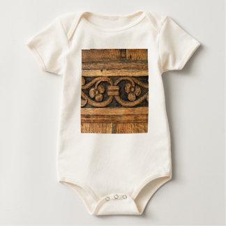 Body Para Bebé escultura de madera del panel