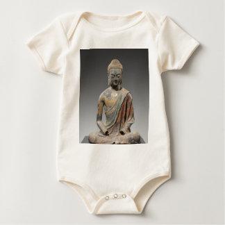 Body Para Bebé Escultura decolorada de Buda - dinastía Tang (618)