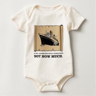Body Para Bebé espacio en un barco sí