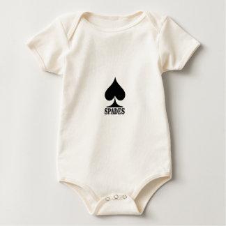 Body Para Bebé espada en forma negra