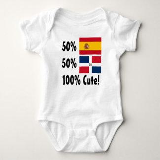 Body Para Bebé Español del Dominican el 50% del 50% el 100% lindo