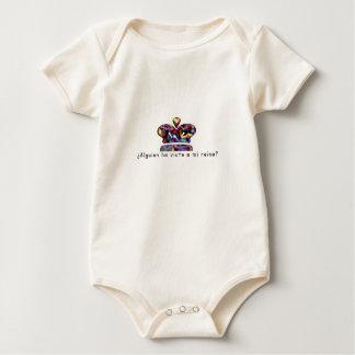 Body Para Bebé Español-Reina