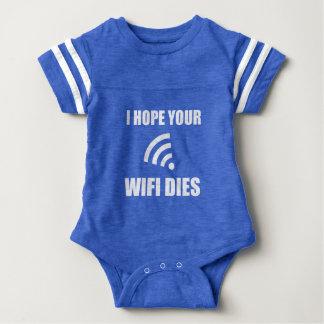Body Para Bebé Espere sus dados de Wifi