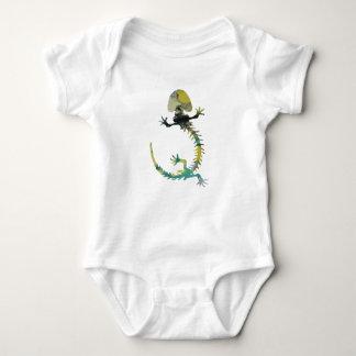 Body Para Bebé Esqueleto de Hellbender