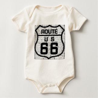 Body Para Bebé Estados de la ruta 66