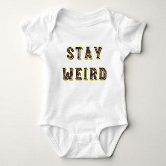 Body Para Bebé Estancia extraña