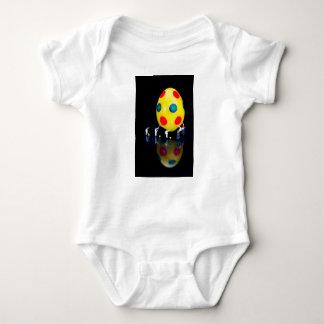 Body Para Bebé Estatuillas miniatura que pintan el huevo de