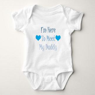 Body Para Bebé Estoy aquí encontrar a mi papá