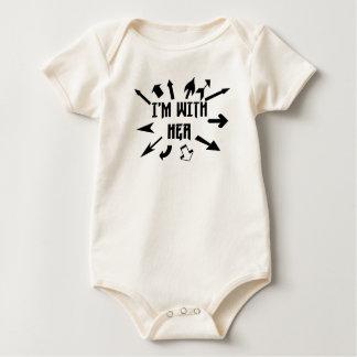 Body Para Bebé Estoy con sus flechas