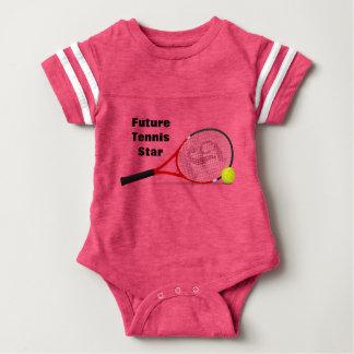 Body Para Bebé Estrella de tenis futura