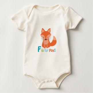 Body Para Bebé F adorable está para el equipo del bebé del Fox