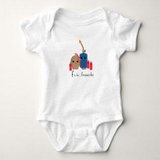 Body Para Bebé f está para la abrazo Onsie listo de los fuegos