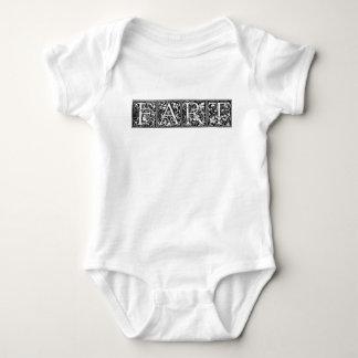 Body Para Bebé FART el chiste crudo del humor divertido de las